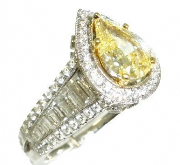 custom-yellow-diamond-ring-sparta-nj-golden-castle-jewelers